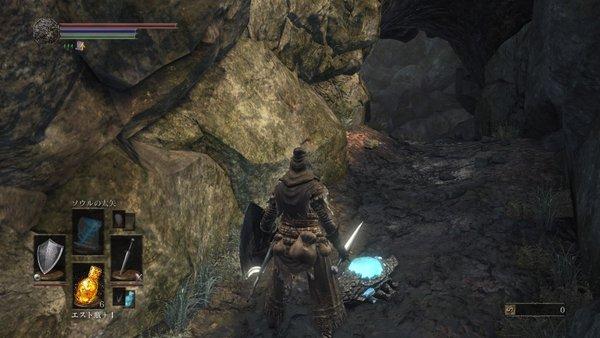 ダークソウル3 結晶トカゲ