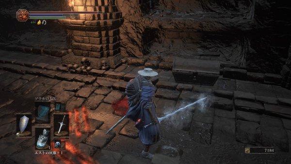 ダークソウル3 カーサスの地下墓_宝箱はミミック