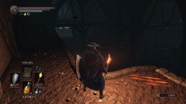 ダークソウル3 暗い部屋
