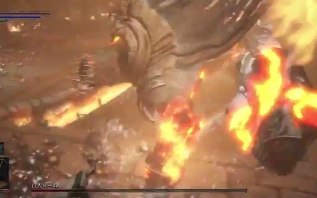 ダークソウル3 罪の都_巨人ヨーム_殴る