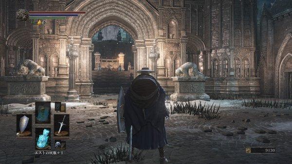 ダークソウル3 大きな門