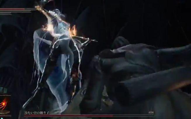 ダークソウル3 冷たい谷の踊り子_ジャンプ斬り