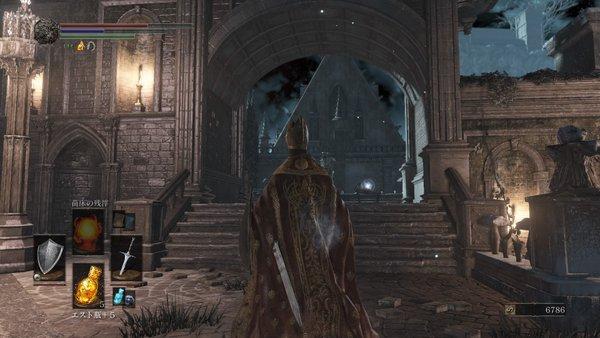 ダークソウル3 冷たい谷のイルシール_隠し部屋3