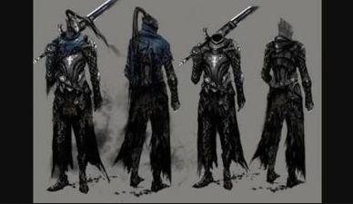 ダクソ3狼騎士の装備