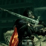 ダクソ3竜血の大剣と防具