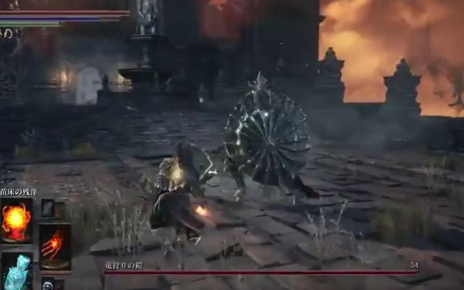 ダークソウル3 竜狩りの鎧_絶対防御