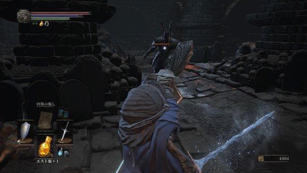 ダークソウル3 燻りの湖_斧の騎士