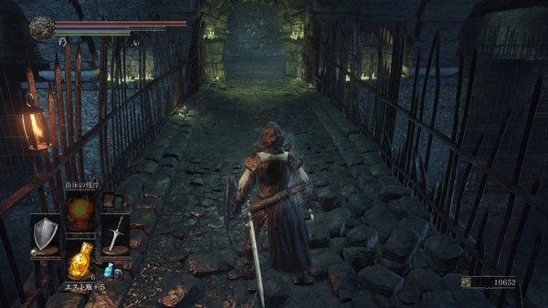 ダークソウル3 イルシールの地下牢_橋を渡る