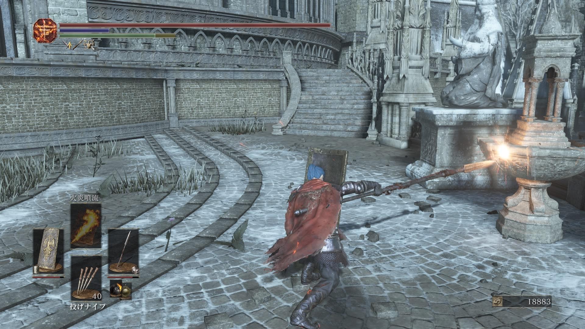 ダクソ3ロスリック騎士の長槍